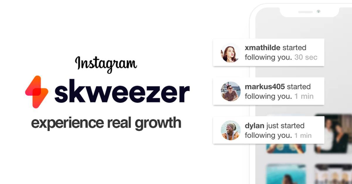 skweezer instagram growth pp