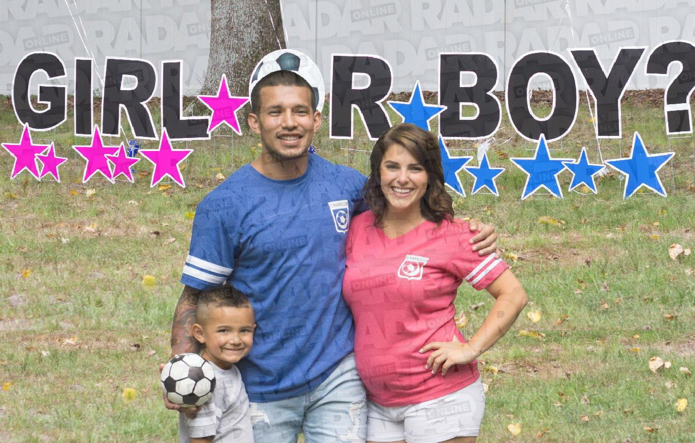 //javi marroquin gender reveal party galpal expecting baby pp