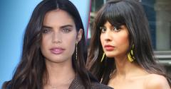 Sara Sampaio on Left Blasts Jameela Jamil on Right For Comment About Models