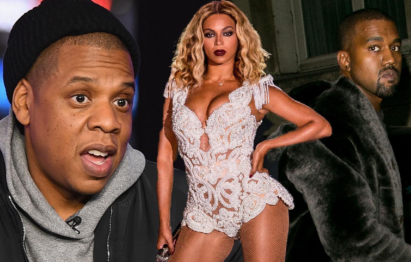 Jay Z Slams Kanye West Feud Beyonce