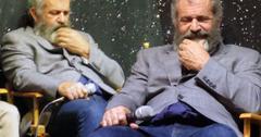 Mel Gibson Weight Gain Bloated Pregnant Girlfriend Rosalind Ross