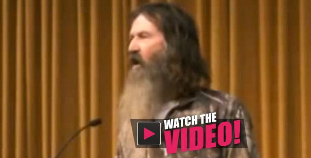 phil robertson anti-gay rant video