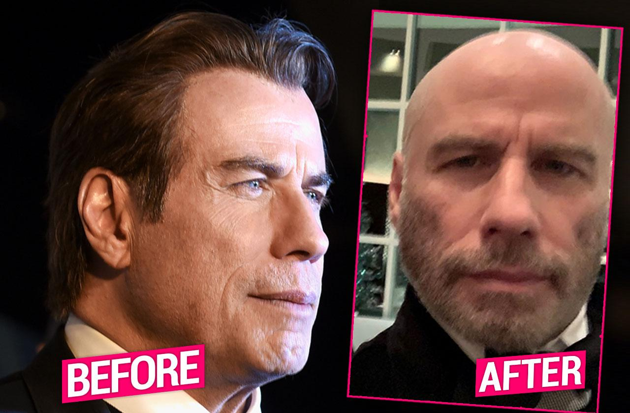 John Travolta Finally Embraces Baldness In Revealing New Year's Pic