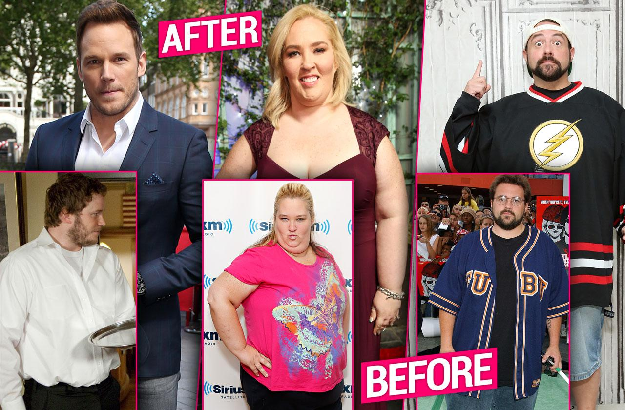 The Most Shocking Celeb Weight Transformations Of All Time