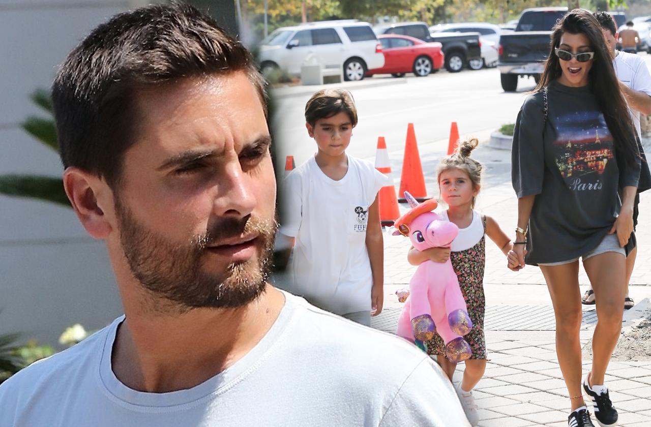 Scott Disick Hospitalized Custody Kids Kourntey Kardashian