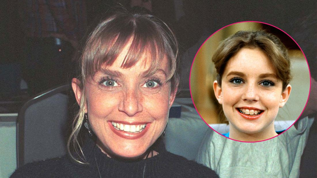 """Dana Plato (""""Diff''rent Strokes"""") at the Hollywood Collectors Show. Inset right, Dana Plato as Kimberly Drummond."""