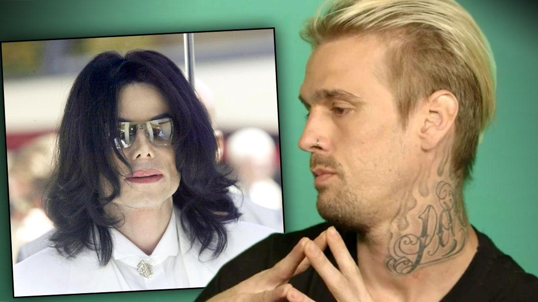 Aaron Carter Says Late Pal Michael Jackson Was 'Inappropriate' With Him