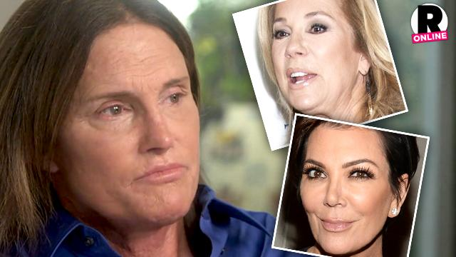 Bruce Jenner Kathie Lee Gifford Kris Jenner