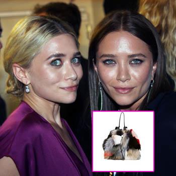//olsen twins peta fur purse