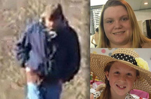 //teen girls double murder indiana man suspect phone image audio