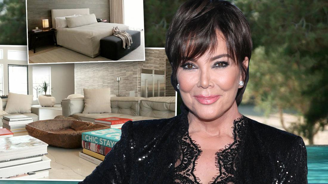 Kris Jenner Palm Springs Mansion KUWTK Premiere Photos