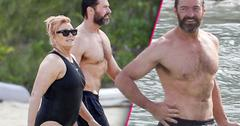 //hugh jackman wife bathing suit beach st barth pp