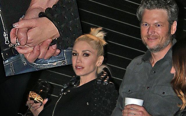 Blake Shelton Gwen Stefani Dating Holding Hands