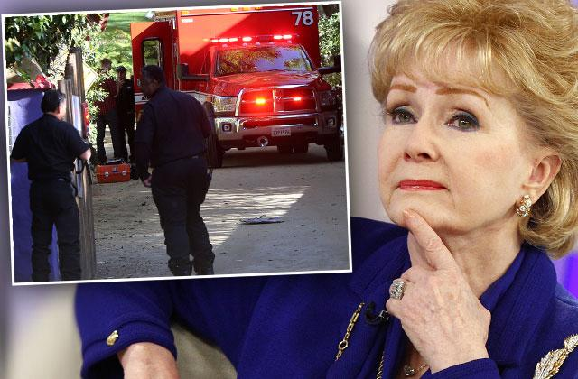 Debbie Reyonlds Carrie Fisher Mom Ambulance Hospital
