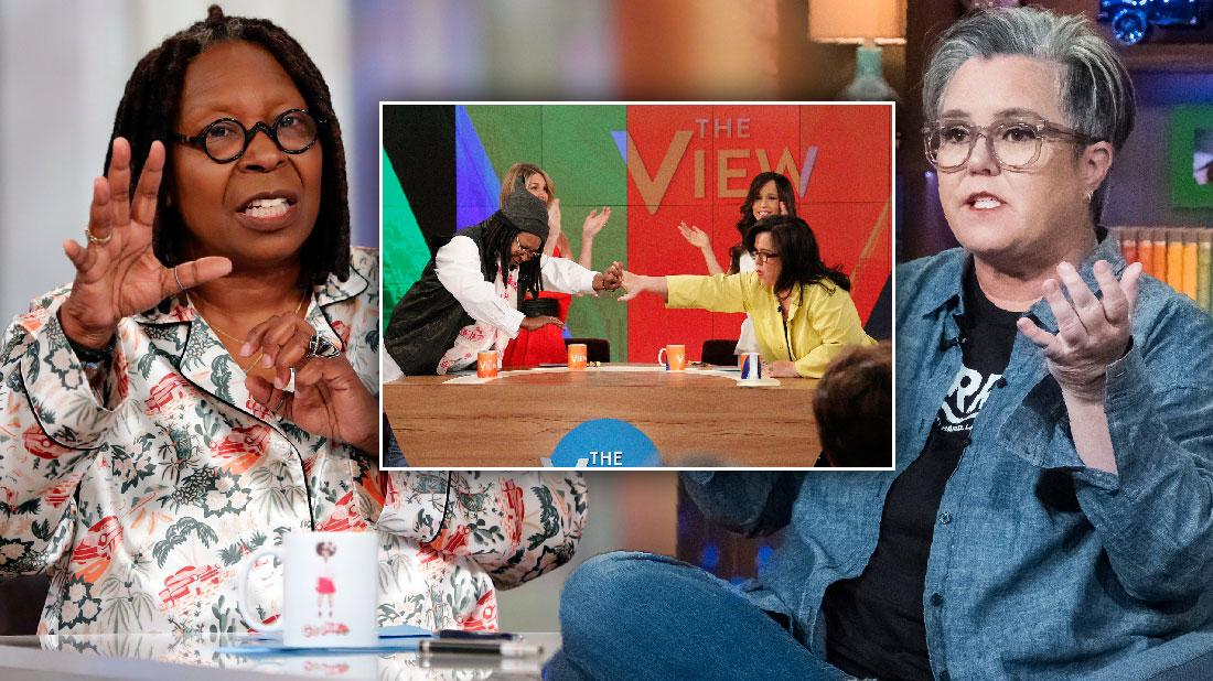 Rosie ODonnell Says Whoopi Goldberg Didn't Like Her The View