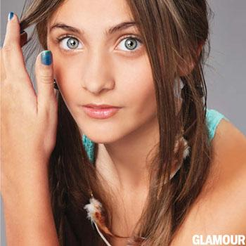 //paris jackson glamour magazine