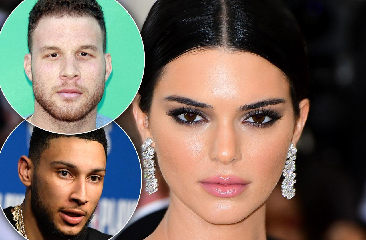 Kendall Jenner New Boyfriend Ben Simmons Same Seat Ex Blake Griffin Date