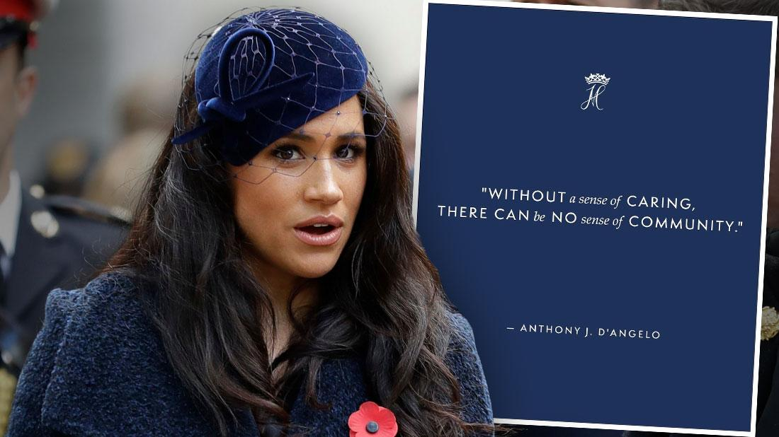 Fans Slam Meghan Markle After She Posts Quote About 'Caring'