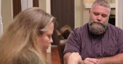 Bernie and Paige McGee talk at the dinner table.