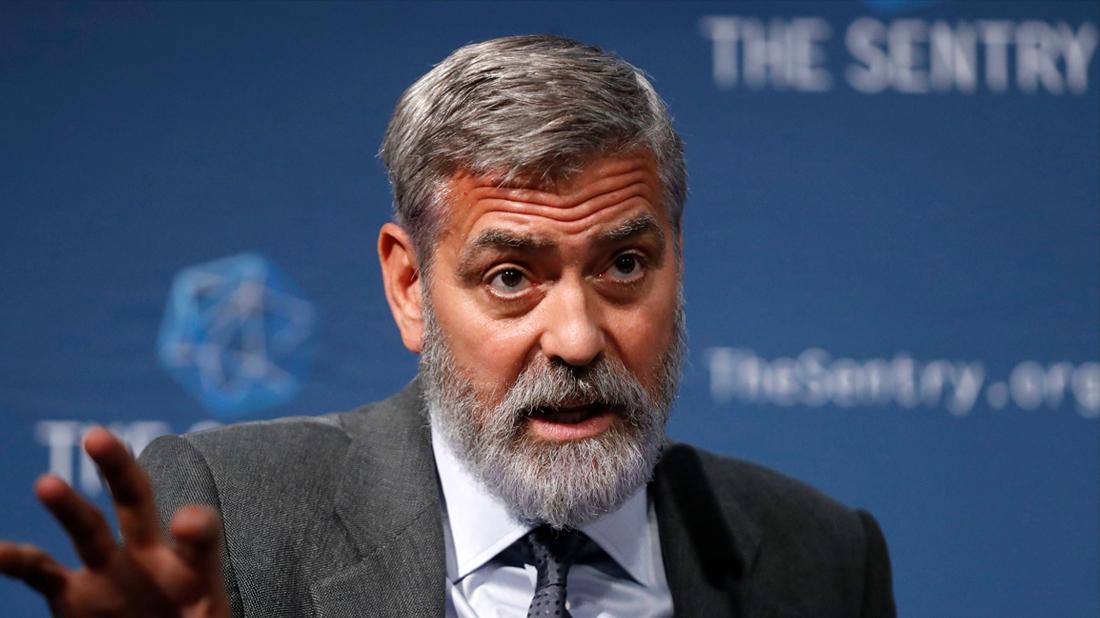 George Clooney Stressed