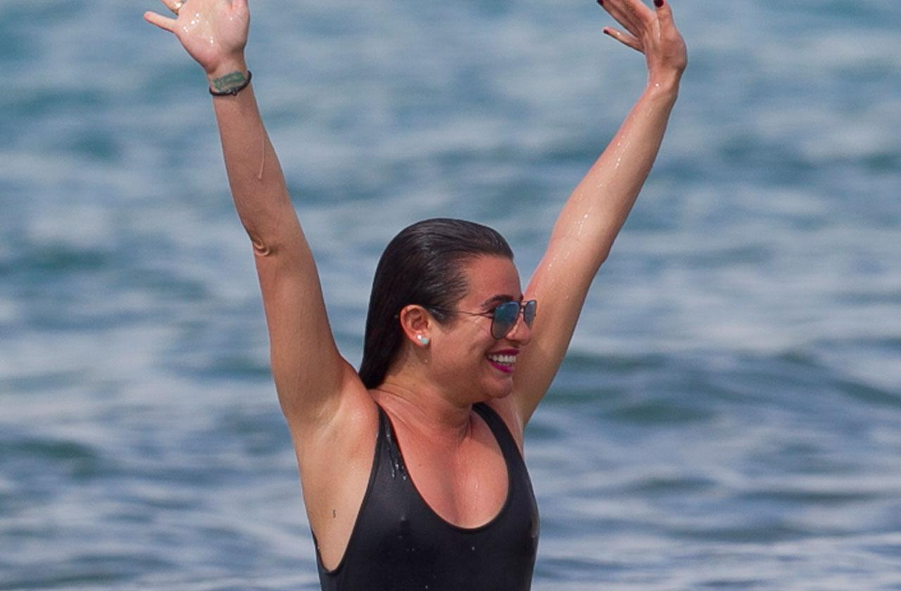 Lea Michele Feels Most Confident Naked