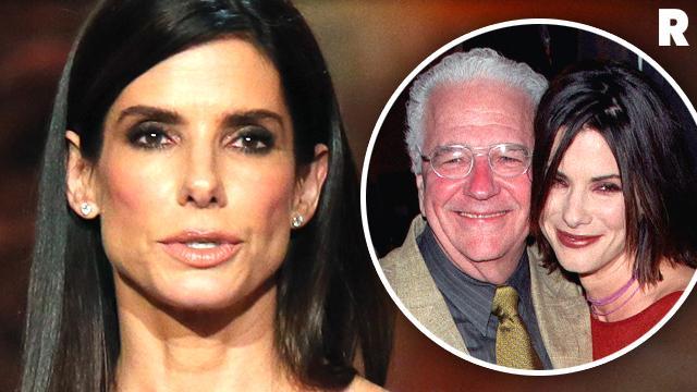 Sandra Bullock Heartache Father Sick