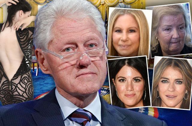 Bill Clinton Hillary Clinton Assault Scandal Shocking List Accusers