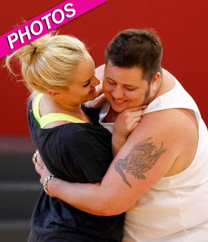 //chaz bono lacey schwimmer dwts