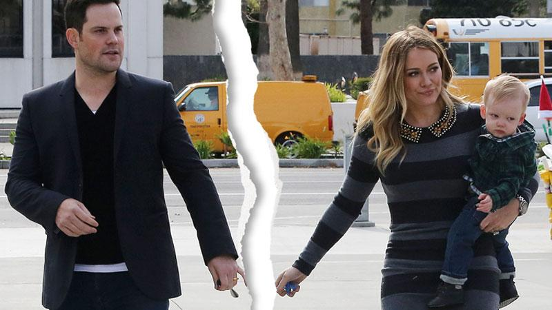 Hilary Duff Divorce Mike Comrie