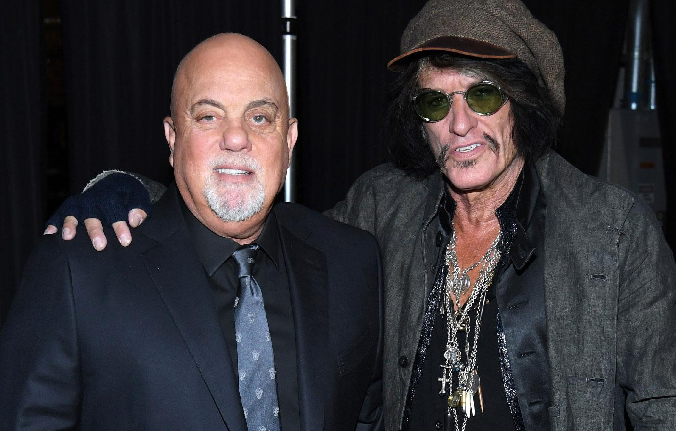 Aerosmith Star Joe Perry Hospitalized After Performing With Billy Joel