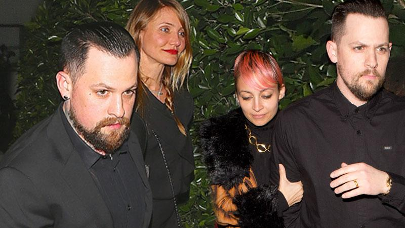 Cameron Diaz And Benji Madden Beg Nicole Richie And Joel Madden Not To Divorce