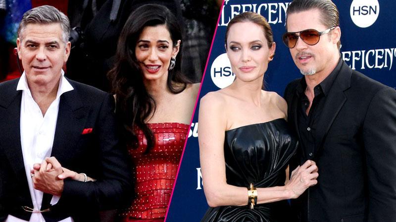 Brad Pitt George Clooney Mortal Enemies