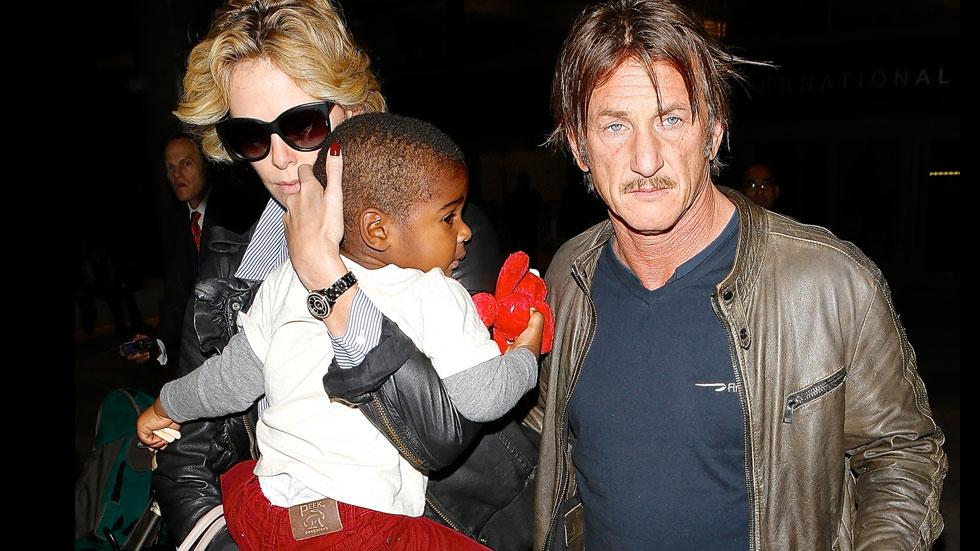 Sean Penn Charlize Theron Son