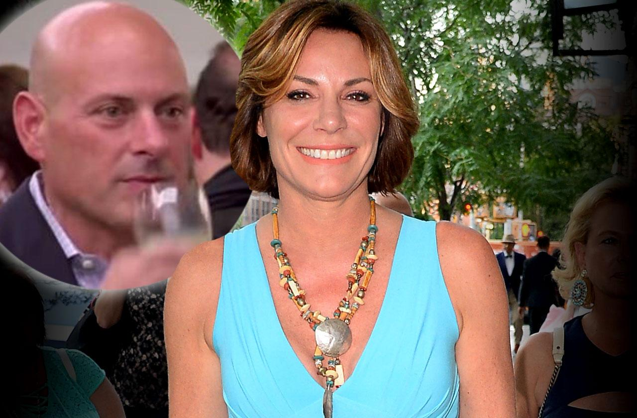 //Luann De Lesseps Tom DAgostino Finalize Divorce pp