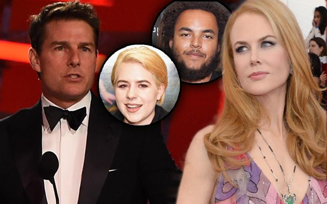 Tom Cruise Nicole Kidman Isabella Cruise Connor Cruise Scientology Years Apart