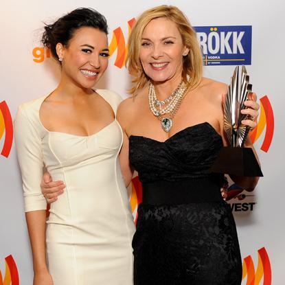 //naya_rivera_and_kim_cattrall_at_glaad_media_awards_ _
