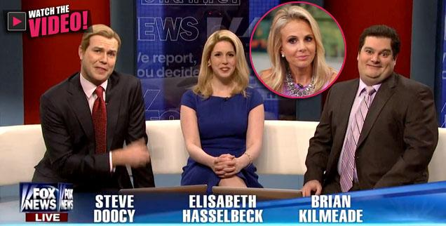 //fox and friends snl skit elisabeth hasselbeck