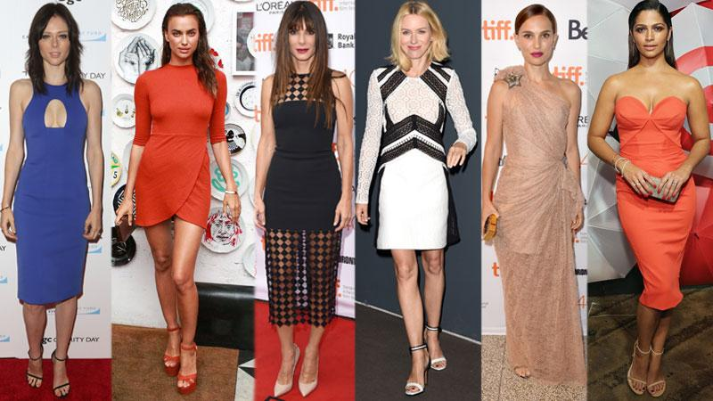 red carpet style fashion looks shoes dress