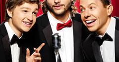//ashton kutcher two half men contract