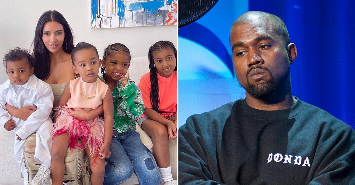 kim kardashian single mom kanye west joint custody divorce