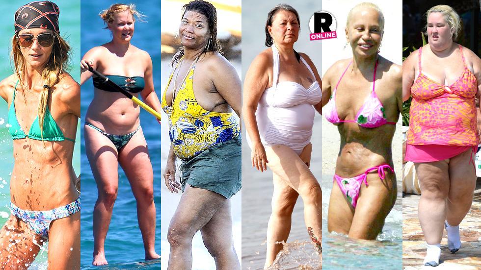 worst celebrity beach bodies