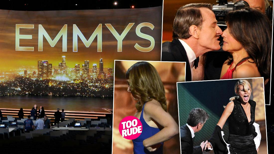 Emmy Shocking Moments