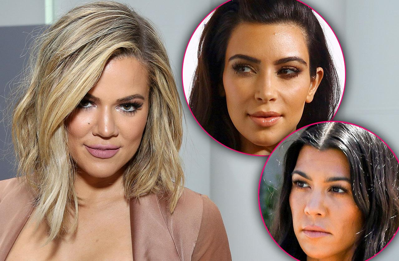 Khloe Kardashian Sisters Over Breakup Posts
