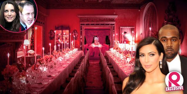 //kim kardashian kanye west  million wedding gown all out paris italy kuwtk  wide