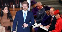 Royal Family 'Blindsided' By Meghan & Prince Harry Exit