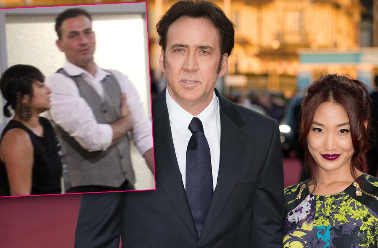 Nicholas Cage Wife Alice Kim Two-Timing