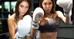 //Farrah Abraham Bra Boobs Abs Boxing pp