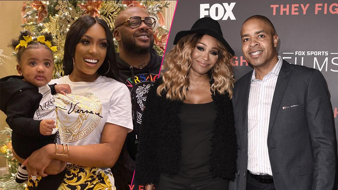 'RHOA' Bridezillas! Porsha Williams & Cynthia Bailey Battling To Walk Down The Aisle First
