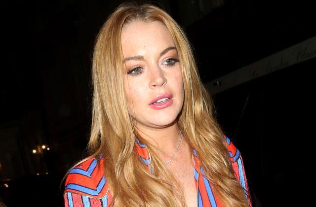Lindsay Lohan Breakup Boyfriend Instagram Blonde