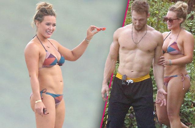 hillary duff bikini body boyfriend jason walsh